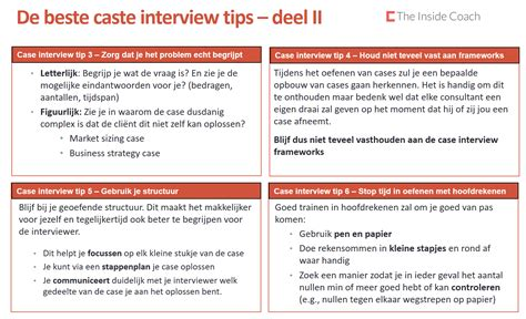 interview case case interview tips deel 2 the inside coach