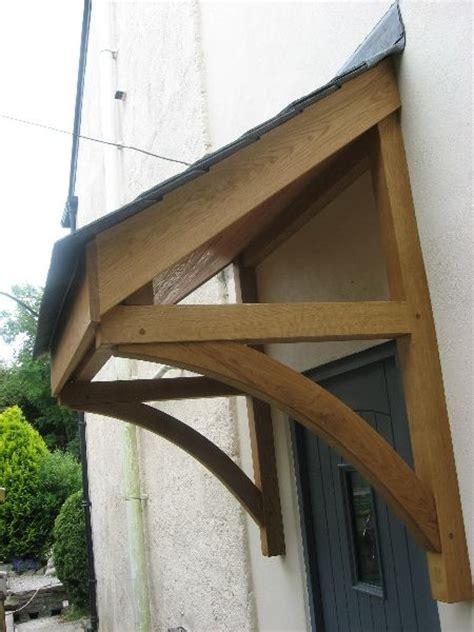 quality woodworks oak door canopy  front door   cottage front doors door canopy