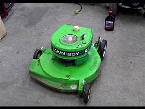 Pull Cord Repair On 2 Cycle Lawn Boy Lawn Mower