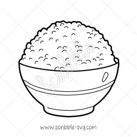 rice food coloring coloring pages