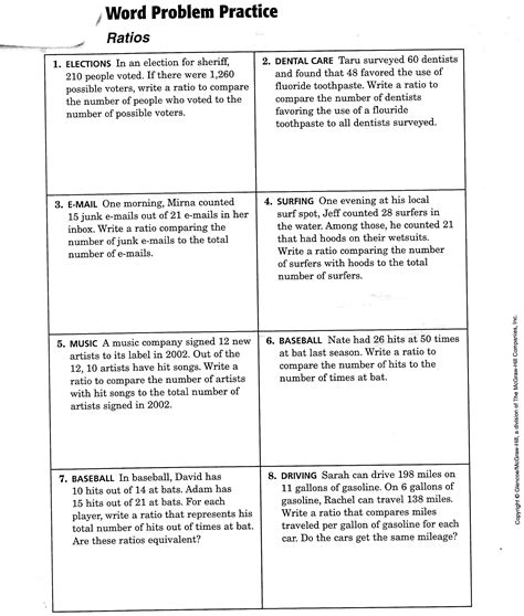solve for variable worksheets 6th grade math story problem
