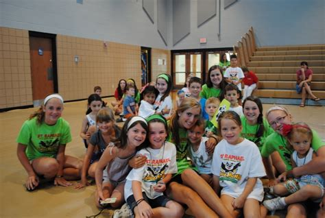 vacation bible school bay draws hundreds area children westlake