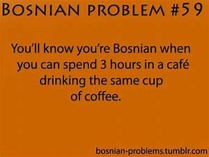 Bosnian Problem... Serbo Croatian Quotes