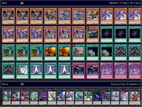 yugioh deck list 2017 world 2017 via duelist channel v0 1 ygoprodeck