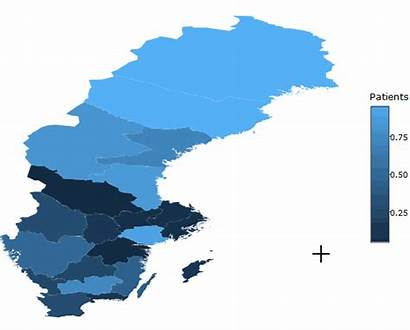 Sweden Choropleth Interactive Map