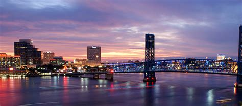 Boat R Downtown Jacksonville by Jacksonville Sunset Panorama Flickr Photo