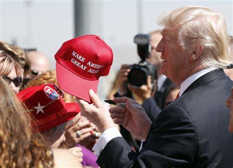 trump campaign merchandise gear hat election
