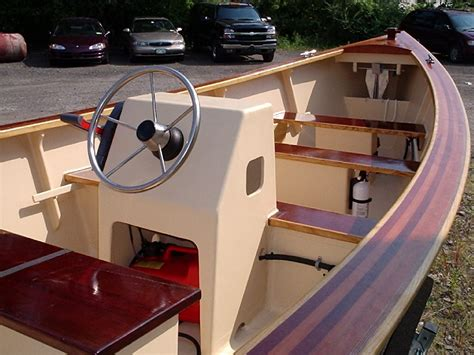Wooden Boat Plans Center Console by 16 Center Console Skiff With Yamaha Power The Hull