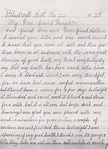 grandmother letter to granddaughter just bcause With letter from grandma to granddaughter