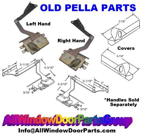 pella window parts casement operators cranks handles covers truth window hardware