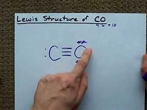 Lewis Structure of CO (Carbon Monoxide) - YouTube