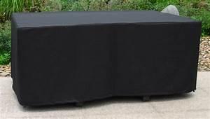 Housse Table De Jardin : housse de protection pour table 170x105 cm noire tous les produits salon jardin prixing ~ Teatrodelosmanantiales.com Idées de Décoration
