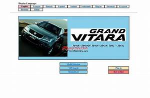 Suzuki Grand Vitara Service Manual