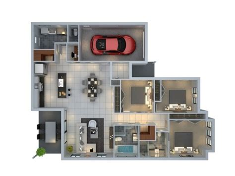 3d room visualizer designeer paul 3 bedroom apartment house plans