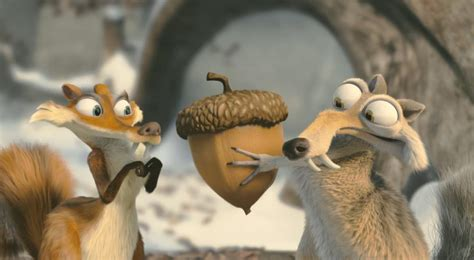 Ice age: Scrat and Scratte. images You want the nut? HD
