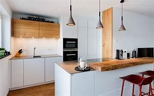 Weiße Küche Mit Holz : k che mit holz beste wohndesign und m bel ~ Markanthonyermac.com Haus und Dekorationen