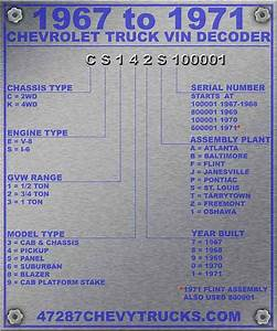 Tk 6699  Chevy Truck Vin Decoder Chart Engine Download Diagram