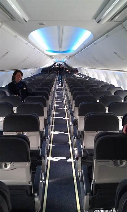 Alaska Airlines Interior Boeing Sky Inside Geekwire