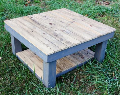 Since it's reclaimed wood, it is not a smooth surface. Buy Custom The Vintage Farmhouse Reclaimed Wood Coffee Table, made to order from Yonder Years ...
