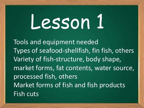 tle grade  cookery lessons