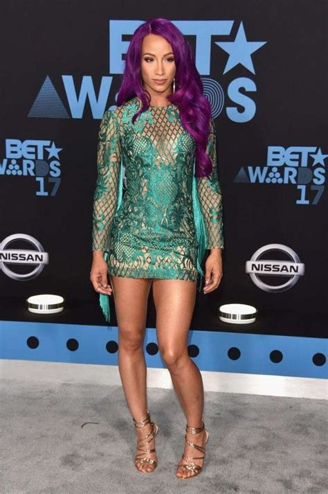 26.1.1992 (29 let) fairfield, california, usa. Sasha Banks: 2017 BET Awards -02 | GotCeleb