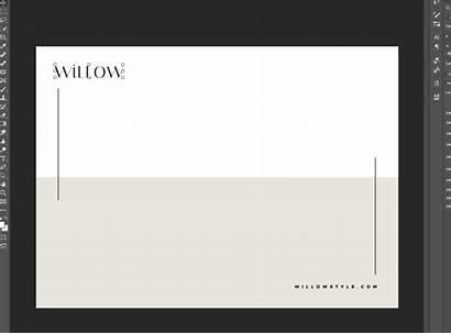 Stationery Template Templates Stylish Willow Business Modern