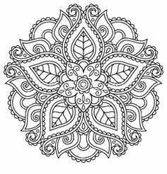 Orientalische Muster Zum Ausdrucken : die 377 besten bilder von mandala malvorlagen mandala ~ A.2002-acura-tl-radio.info Haus und Dekorationen