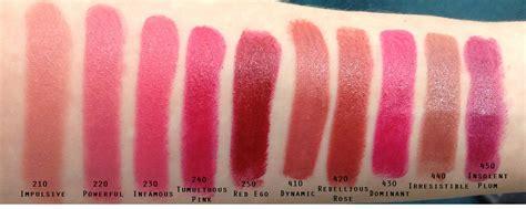 color envy color envy lipsticks the painted rogue