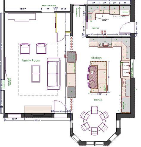 large kitchen design floor plans kitchen floor plans