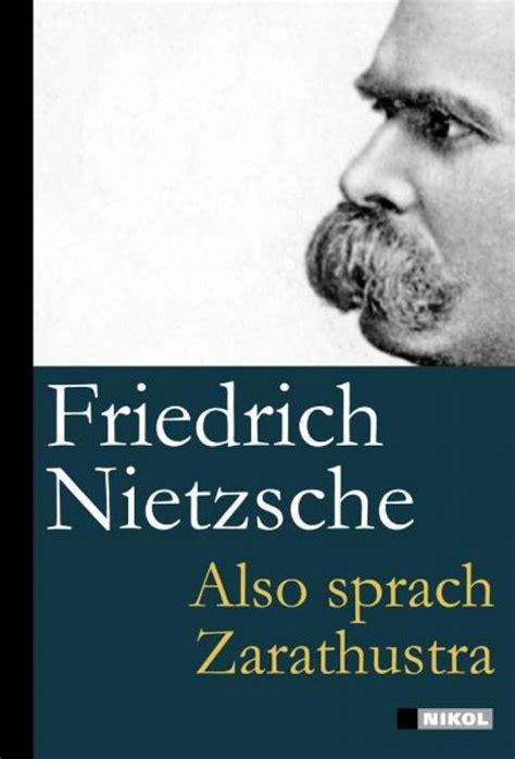 Also sprach Zarathustra - J.K.Fischer Verlag Shop