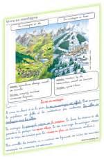 Carte De Montagne Ce1 by La Fronti 232 Res Et Relief Lutin Bazar