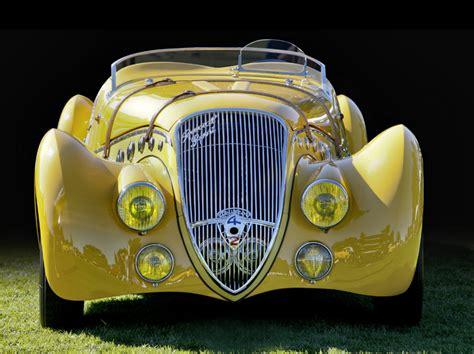 vintage peugeot car the art of vintage cars tom strongman
