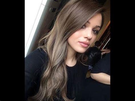 haarfarben aschbraun schwarze dunkelbraune haare toenen
