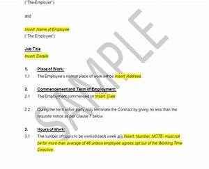 Free Partnership Agreement Contract Full Time Employment Contract Template The Stop