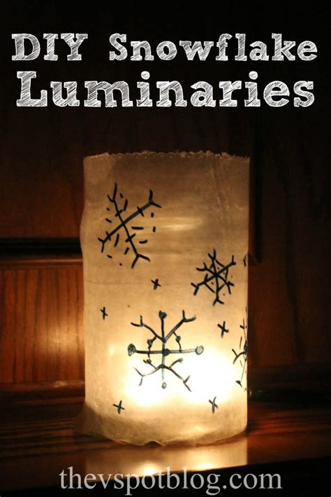 easy diy christmas luminaries   spot
