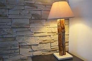 Meuble En Bois Flotté : petite lampe bois flott cr ation de meubles en bois sur mesure ~ Preciouscoupons.com Idées de Décoration