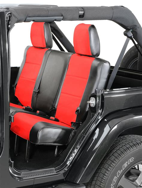 coverking rear leatherette seat covers    jeep