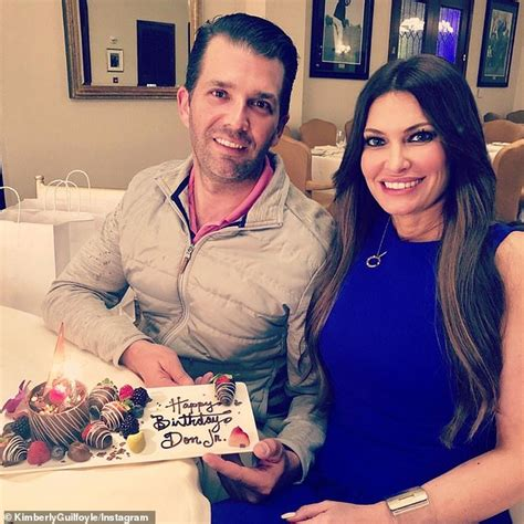 trump donald kimberly jr he guilfoyle apartment paul manafort worked campaign girlfriend don son right eve birthday mail daily oleg