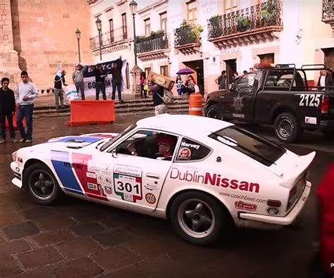 Datsun Rally by This Datsun 240z Is A Purpose Built Rally Rocket The