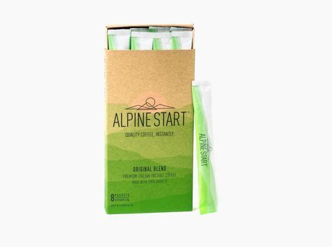 Emily is a north face athlete and recently was the get an alpine start photography session with national geographic photographer keith ladzinski + 10 bags of coffee with benefits or matcha with benefits! Alpine Start Instant Coffee | Instant coffee, Blended coffee, Quality coffee