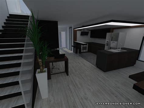 deco cuisine rustique duplexe converti en maison moderne design interieur