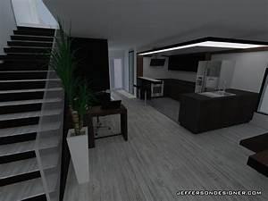 Cuisine Moderne Design : duplexe converti en maison moderne design interieur jeffersondesigner ~ Preciouscoupons.com Idées de Décoration