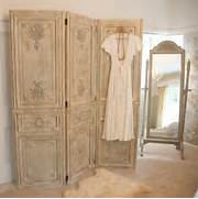 Privacy Screens For Bedrooms Uk by Limed Wooden Dressing Screen French Bedroom Company