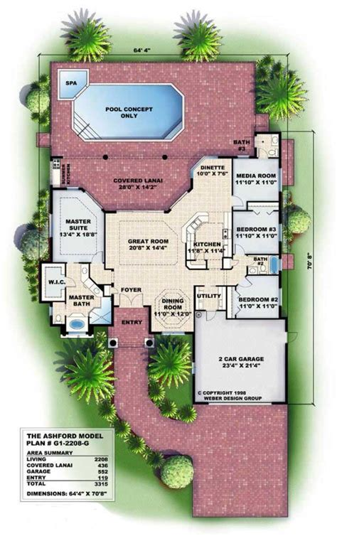 mediterranean houseplans florida home design wdgg