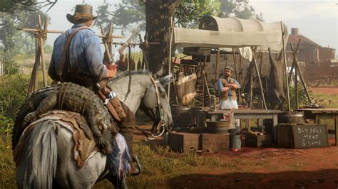 Latest Red Dead Redemption 2 Screenshots Show Off Hunting
