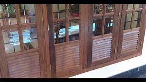Kerala Style wooden window for home - YouTube