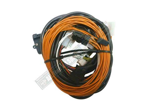 milford towbar wiring harness nissan x trail 2007 on