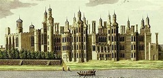 cropped An eighteenth-century view of Richmond Palace ...
