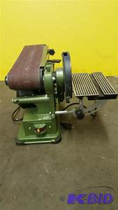 Central-Machinery 4 in x 36 in Belt / 6 in Disc Sander