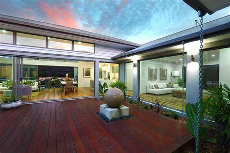 Timber Deck Courtyard Of The Mandalay 292, Display Homes